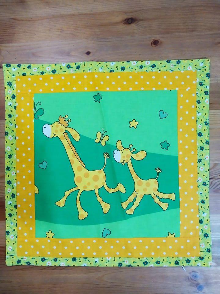 Povlak na polštář - žirafy