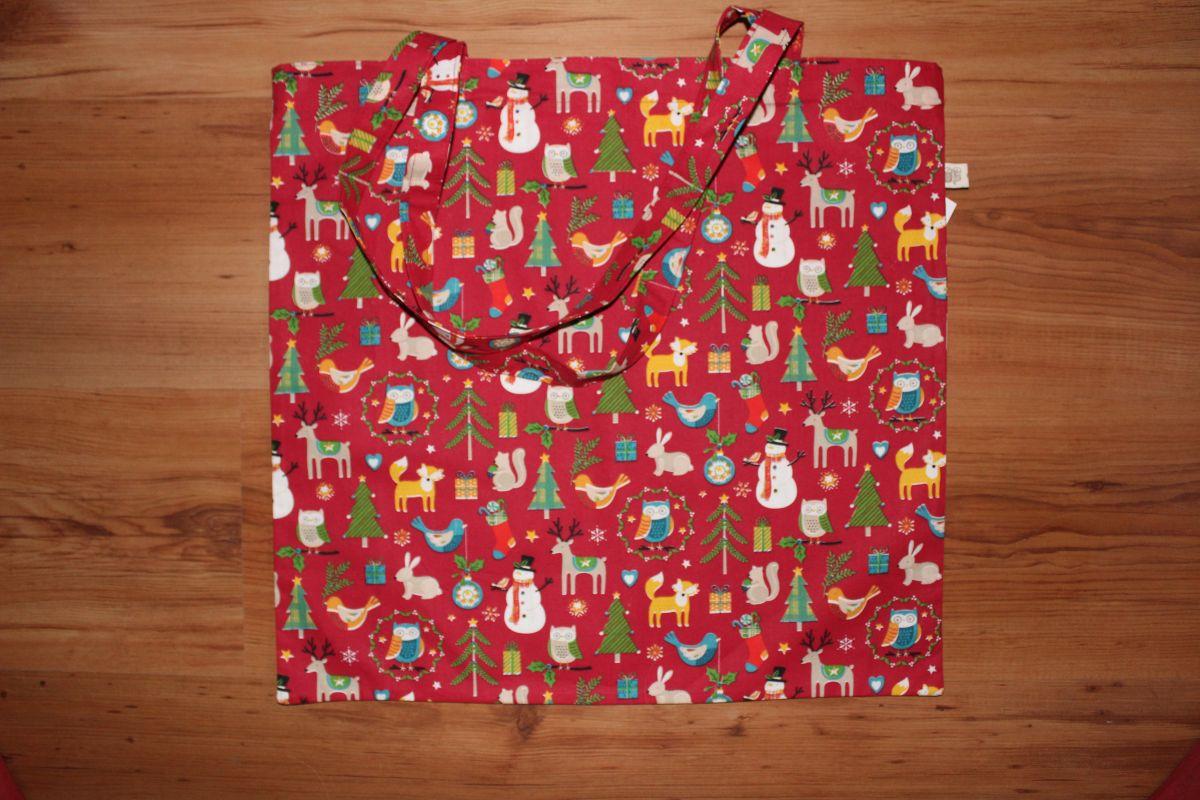 Taška přes rameno - vánoční motiv