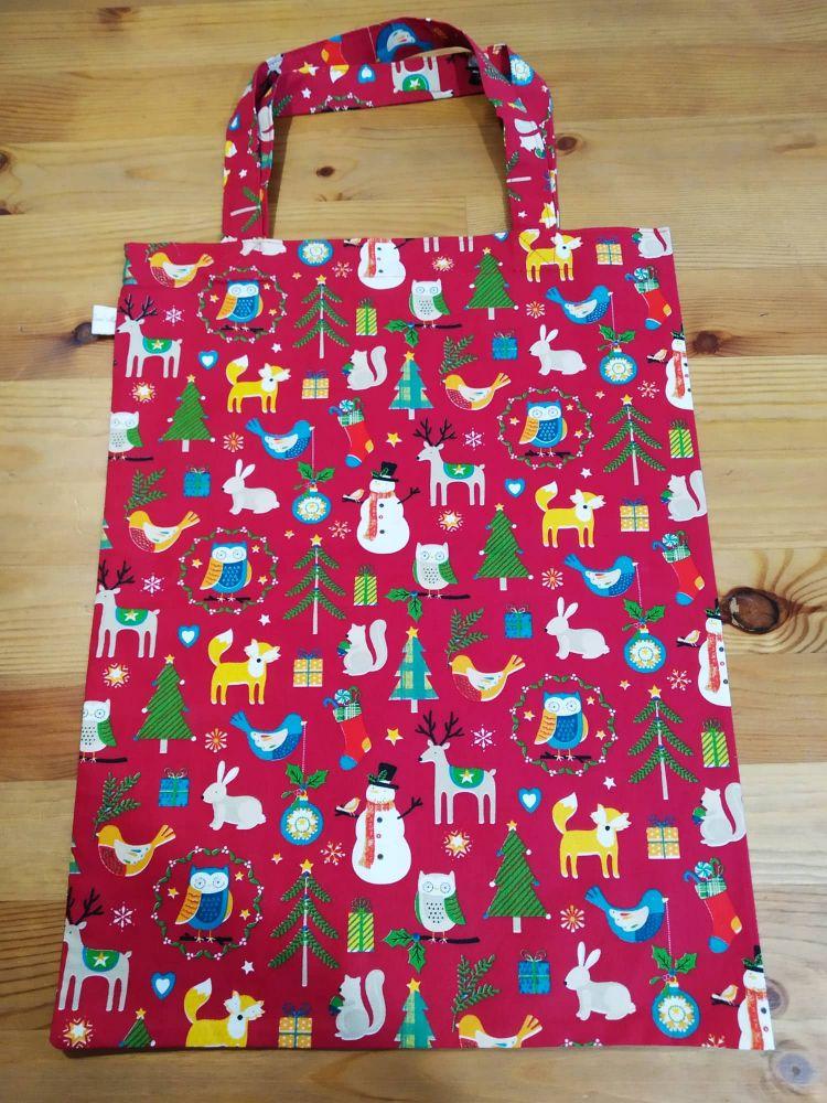 Tašky do ruky - vánoční motiv