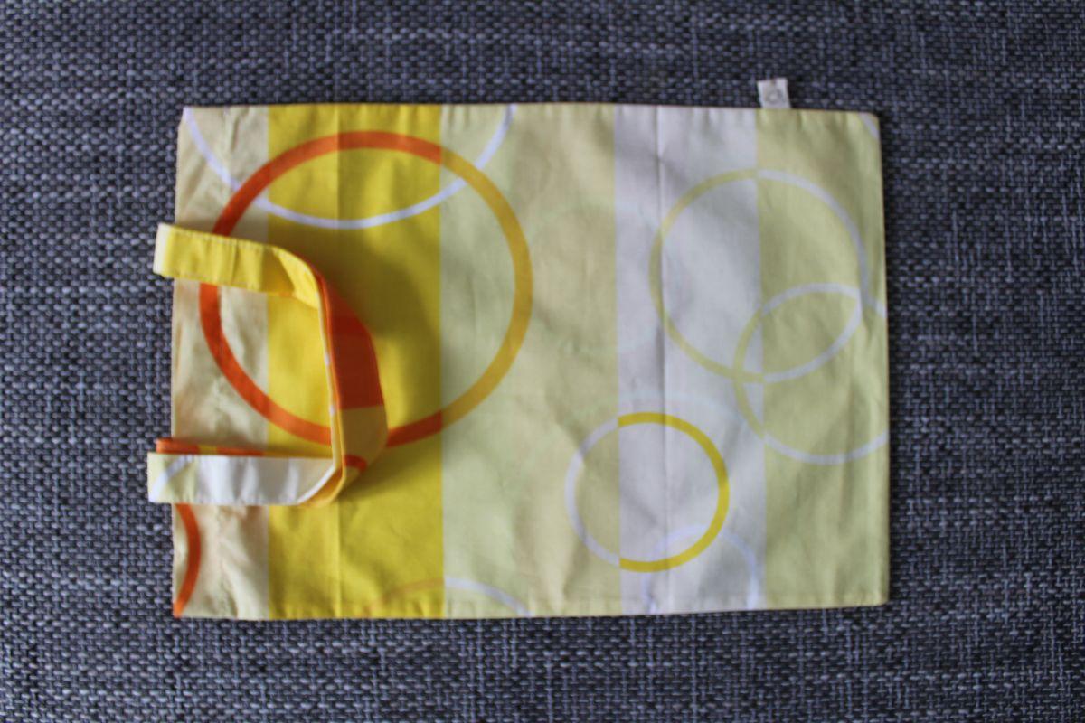 Veselá taška - žluté kruhy