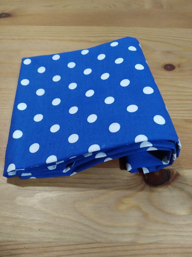 Šátek - tmavě modrý