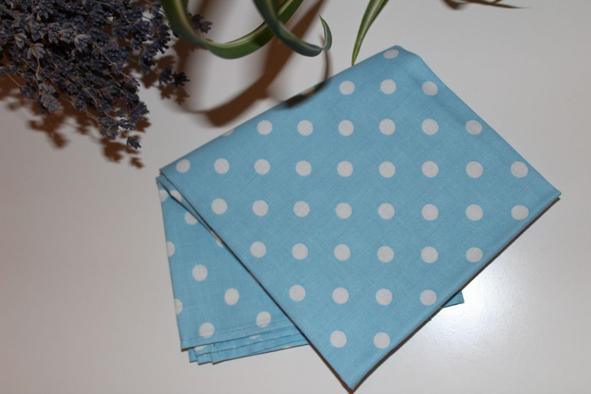 Šátek - světle modrý