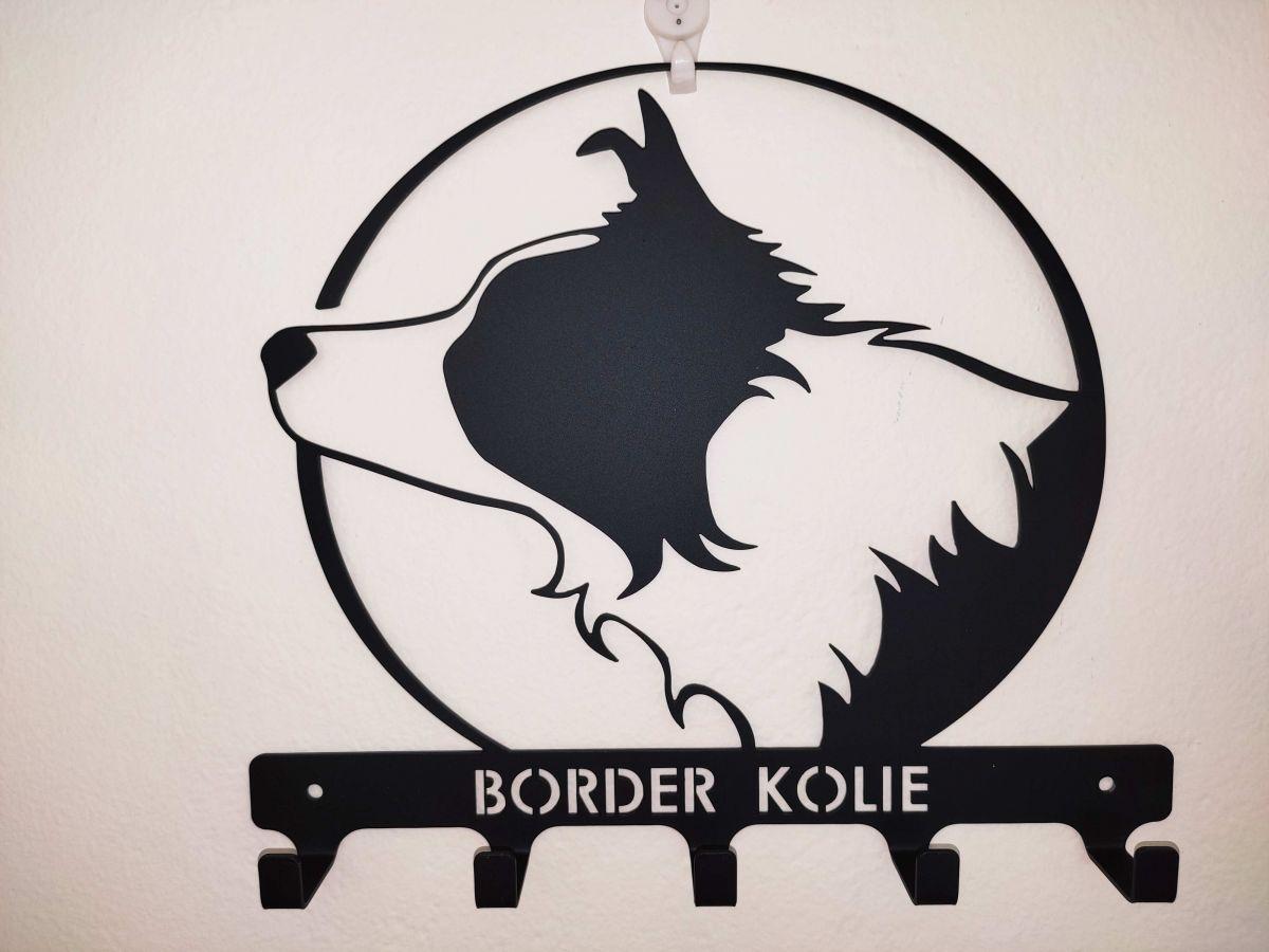 Věšáček - Border kolie